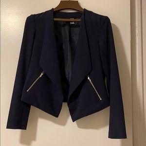 Women's H&M navy blazer size 6